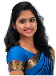 Swathi Nithyanand as Haritha in Bhramanam serial