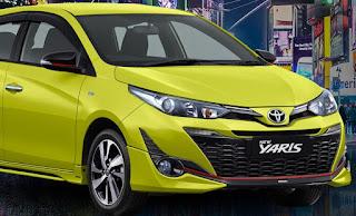 Info Spesifikasi dan Harga Toyota New Yaris Maret 2018 - Infokanlah