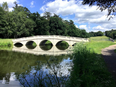 The five-arch bridge, Painshill