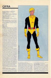 Cifra ficha marvel superheroes