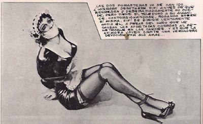comic BDSM antologia luis vigil gwendoline john willie