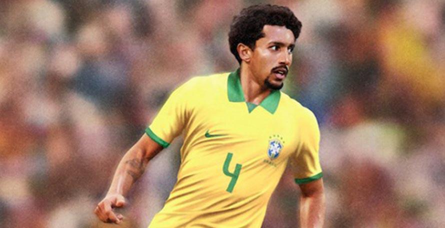 hot sale online 00a11 9995c Nike Brazil 2019 Copa America Home Kit Revealed - Footy ...