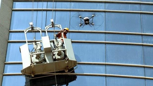 Un Drone Per Salvare I Lavavetri Quadricottero News