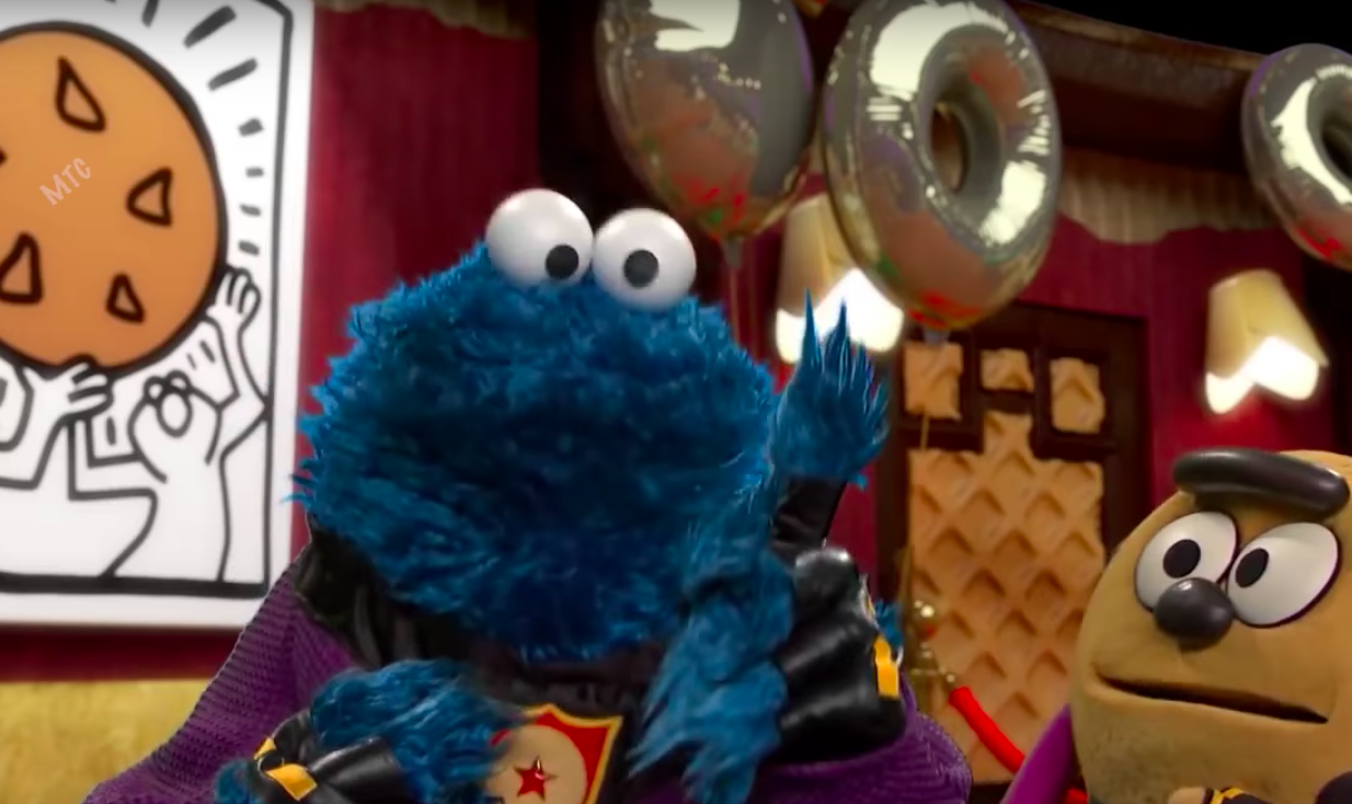 Cookie Monster - Krümelmonster - Mashup mit Busta Rhymes Woo Ha