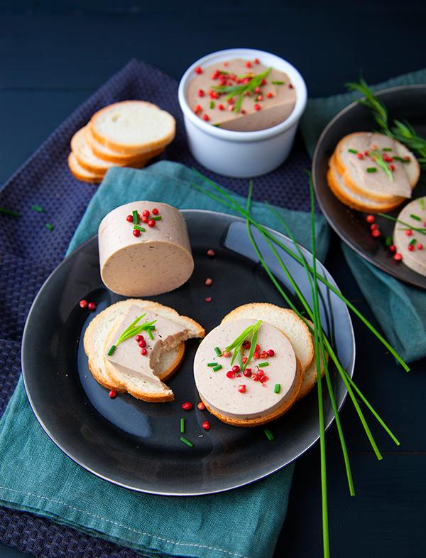 Terrine façon foie gras (variante du livre Noël Vegan)