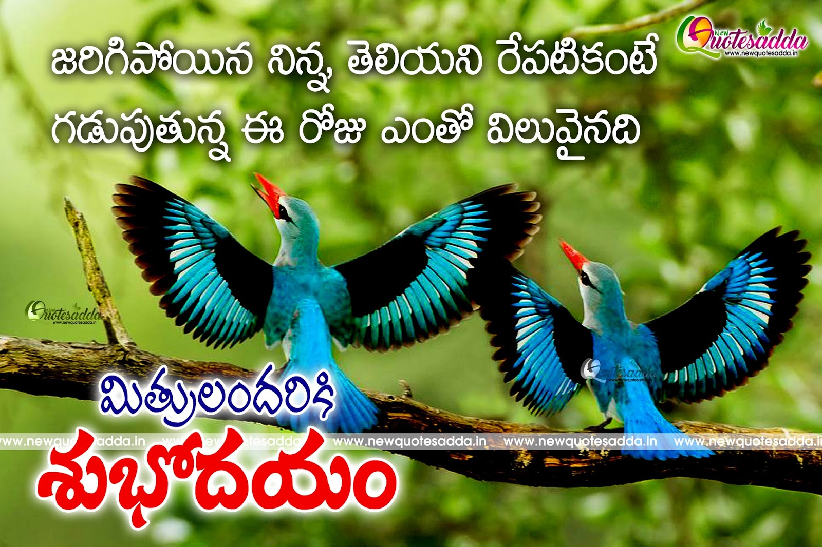 Good Morning Telugu Motivational Life Quotes Newquotesadda
