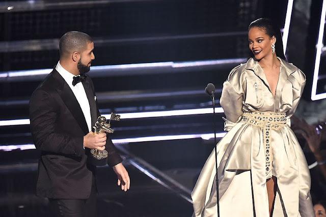 Rihanna e Drake VMA 2016