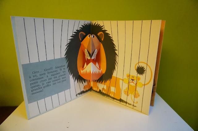 livre pop up années 60 , collection Hop-La / Odège  60s pop up book