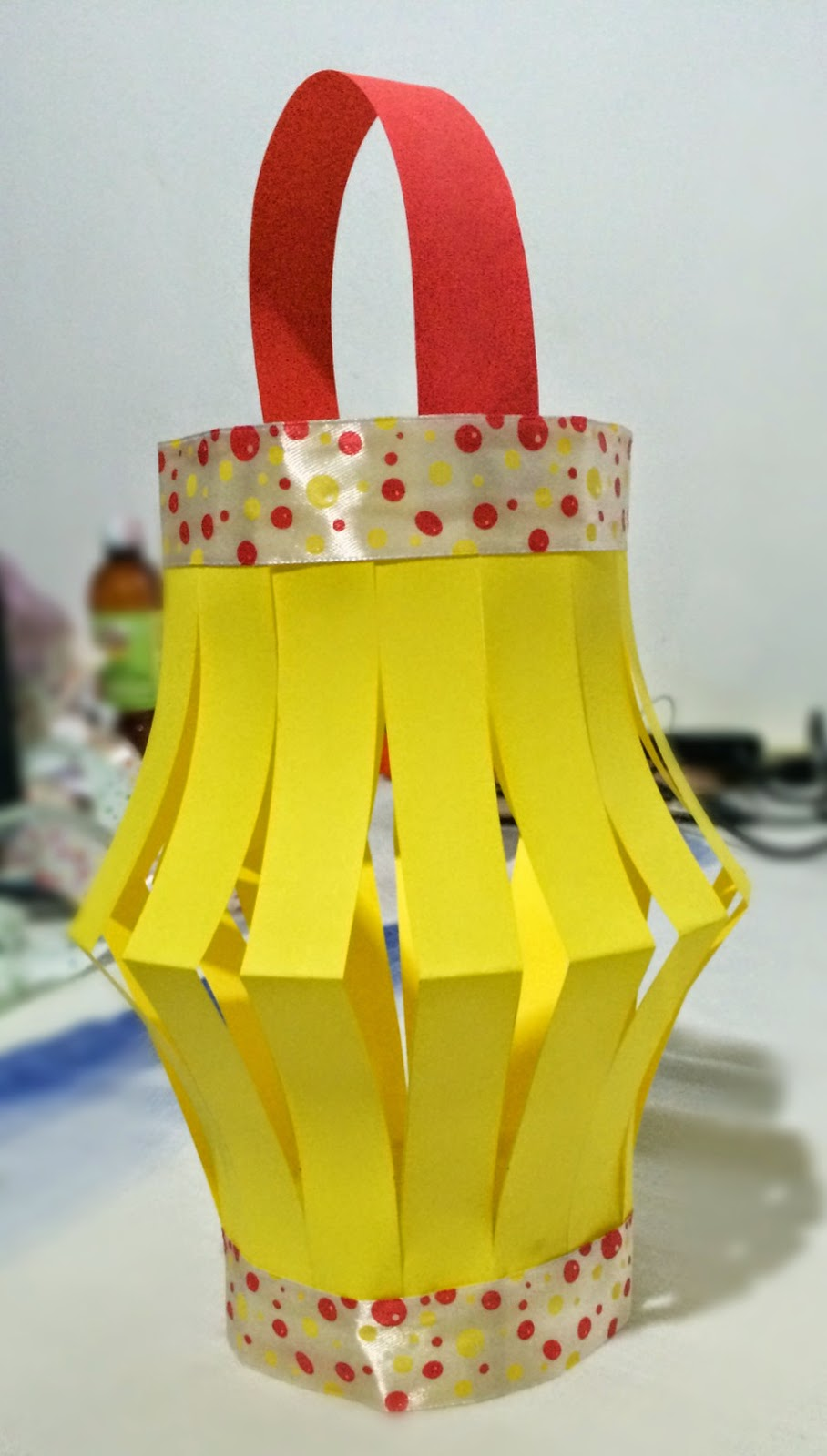 How to make a paper lantern bliss tree