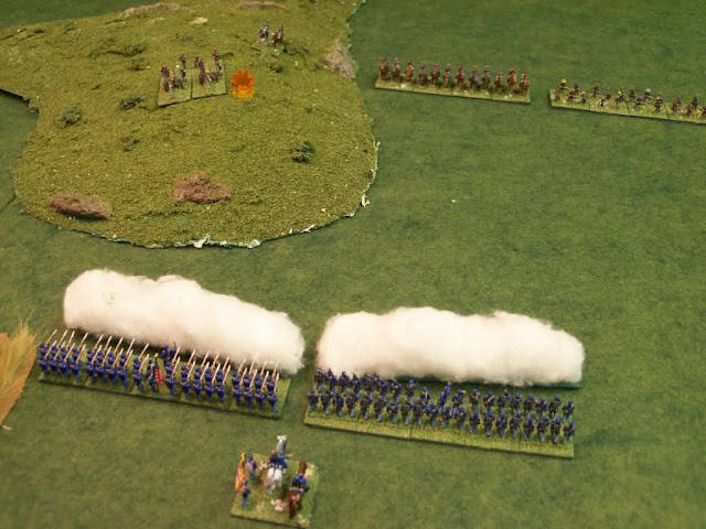Warlord Games Black Powder American Civil War 10mm Battle Report