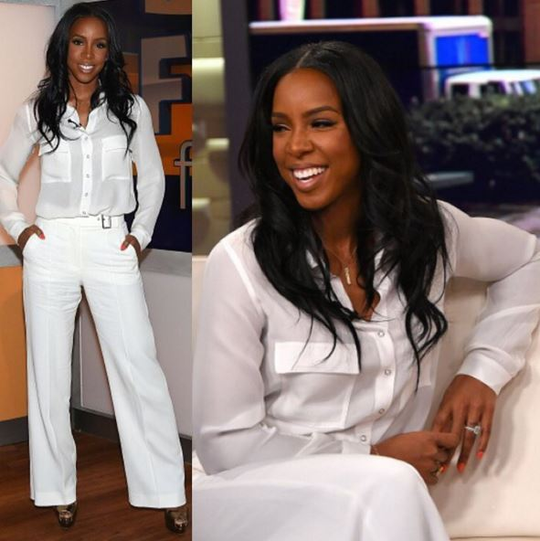 Hot Or Notkelly Rowland Looking Gorgeous In White Ebals Blog