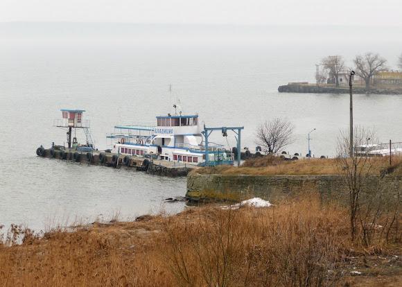 Білгород-Дністровський. Берег лиману