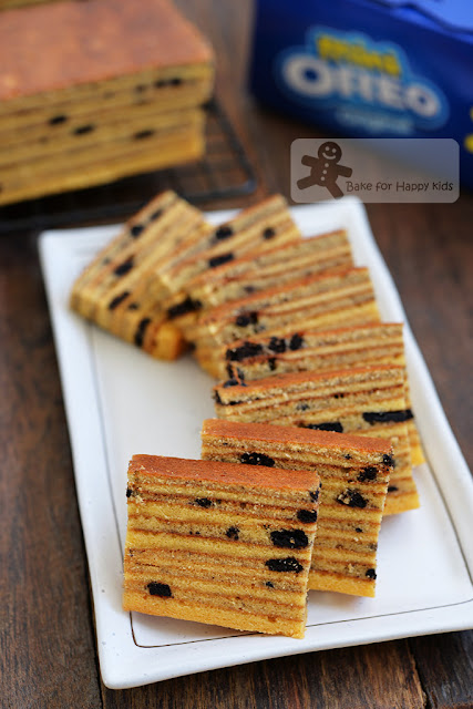 oreo cream cheese kek lapis legit spekkoek