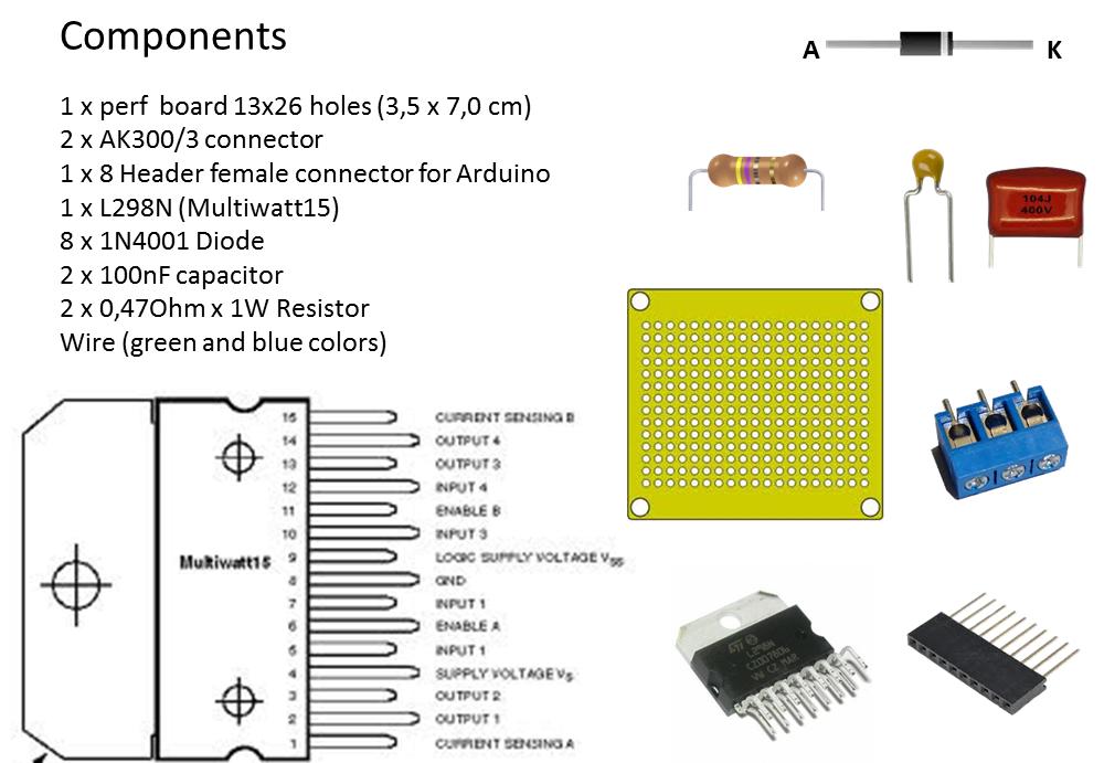 Arduino Stepper L298N coeleveldcom
