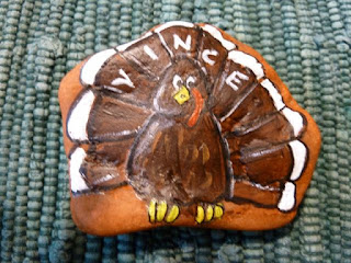 Thanksgiving turkey rock
