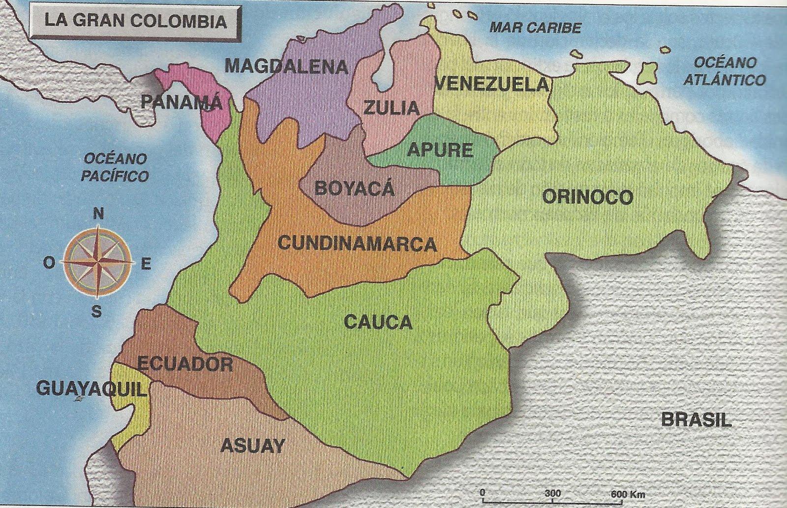 Mapa Politico Estados Unidos De Colombia.Mapa Estados Unidos De Colombia
