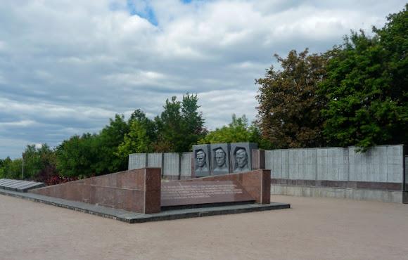 Святогірськ. Військовий меморіал Другої світової війни