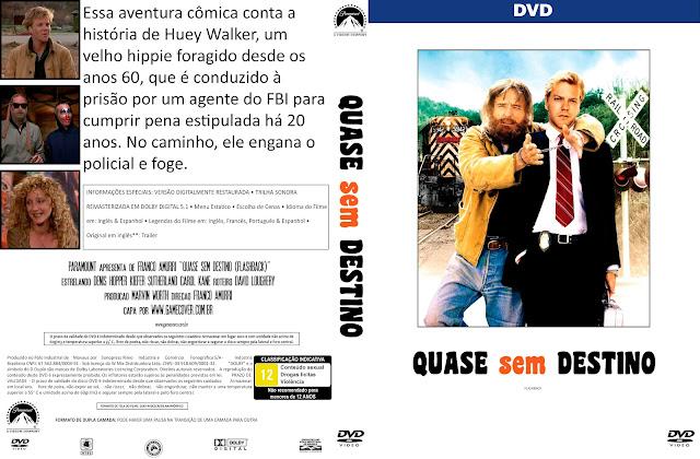 Capa DVD Quase Sem Destino [Coleção]