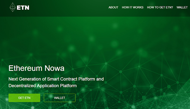 Upcoming Ethereum Nowa Hard fork scam