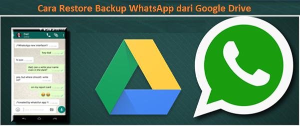 Cara Restore Backup Whatsapp Dari Google Drive Ke Iphone Android Dengan Mudah Teknologi