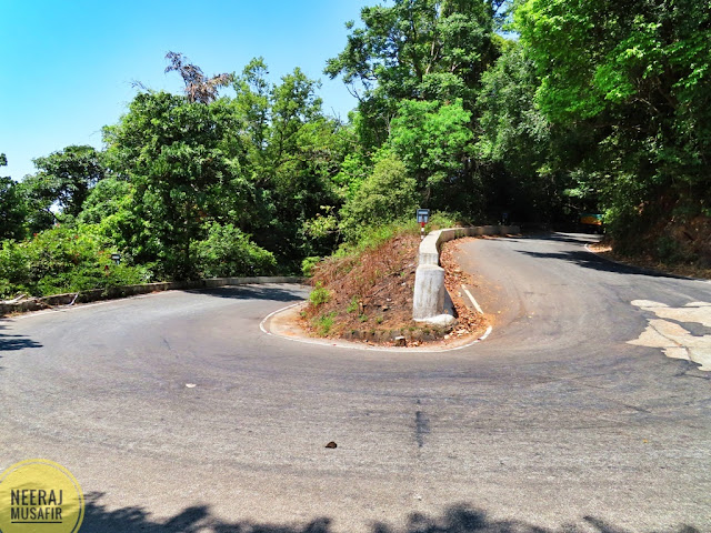 Udupi to Agumbe Road
