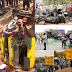 Ghastly Accident Involving More Than 4 Cars Kill 4, Including A Soldier In Abuja - Graphic Photos