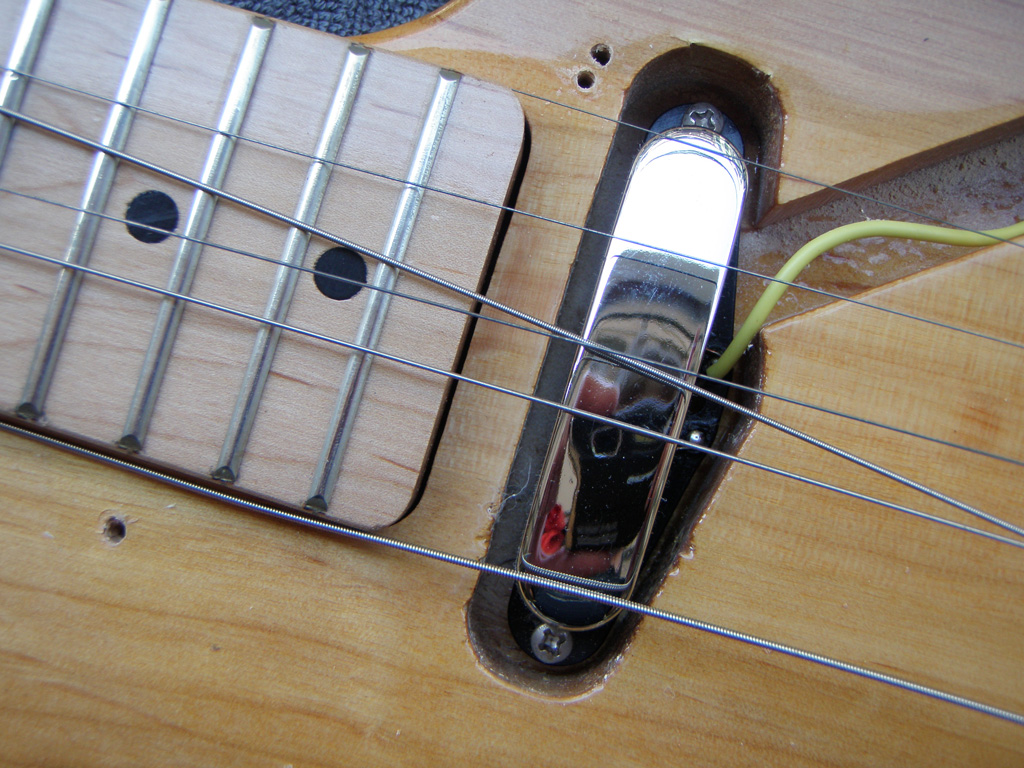 diy strat and other guitar audio projects adjusting the neck pickup height on a fender. Black Bedroom Furniture Sets. Home Design Ideas