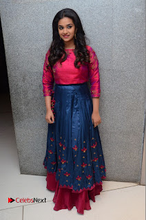 Actress Keerthi Suresh Stills at Remo Success Meet  0143.JPG