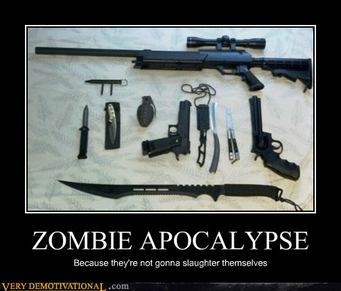 Zombies Not Gonna Slay Themselves