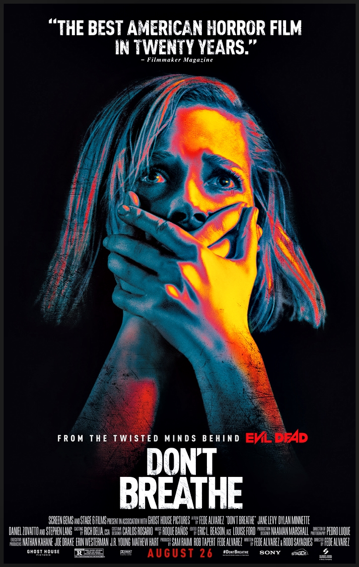 Póster Don't Breathe