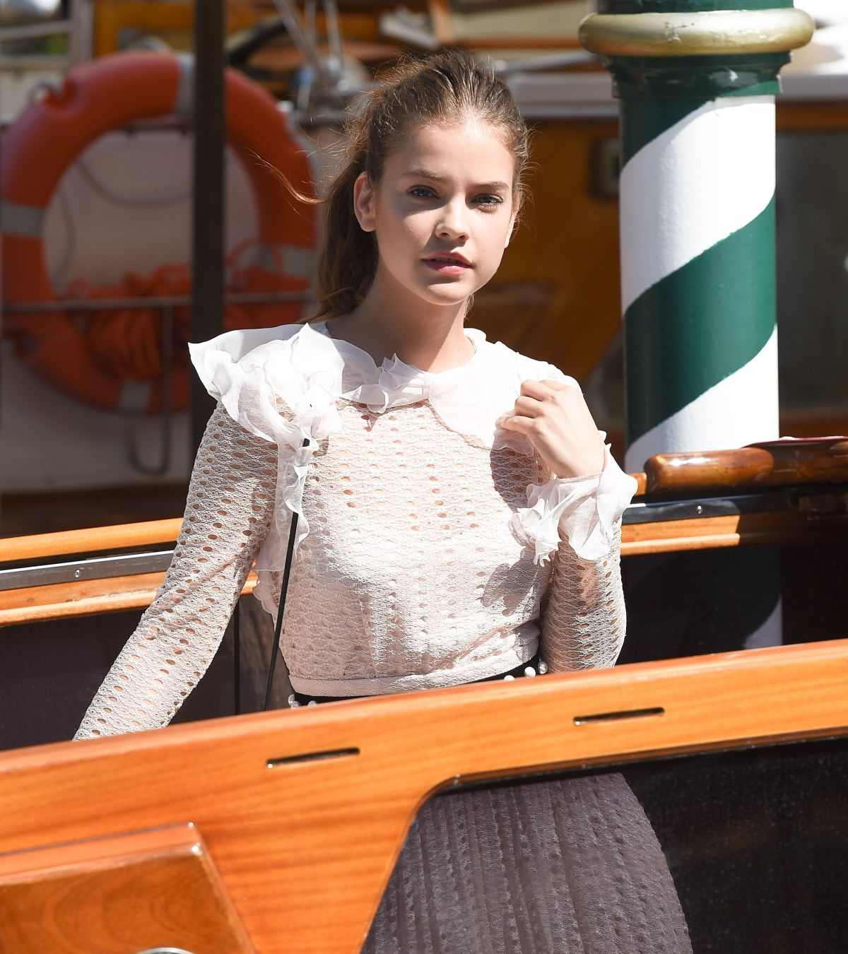 Full HQ Photos of Barbara Palvin Arrives At Hotel Excelsior Venice Film Festival 2016 In Venice