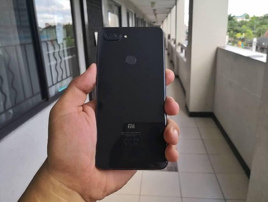 Xiaomi Mi 8 Lite Back