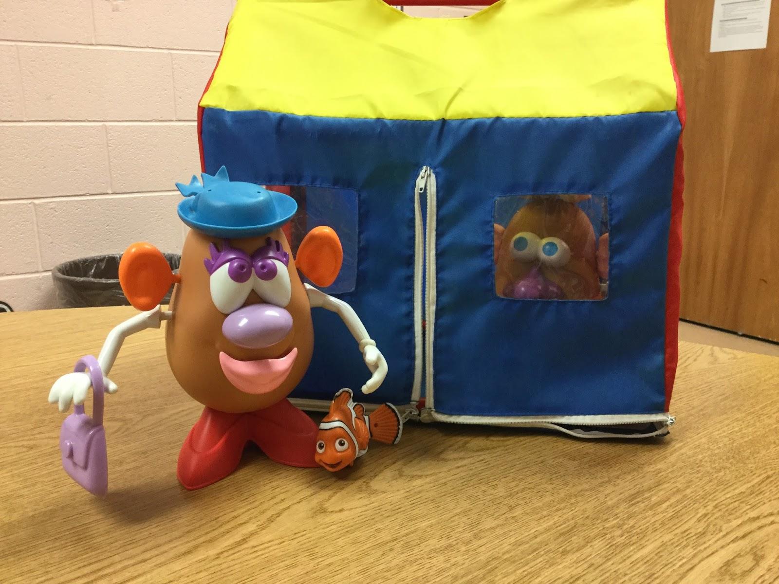 Miss Thrifty Slp Fun With Mr Potato Head