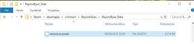 Beyond Eyes - Traduzione italiano