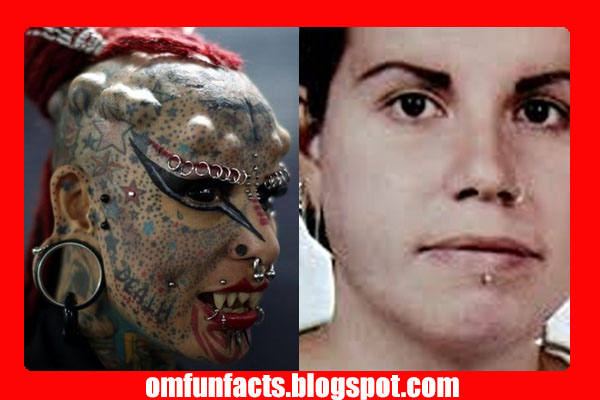 Maria Cristerna befor & after