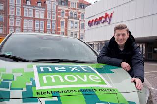 Nextmove vermietet E-Autos in Hannover