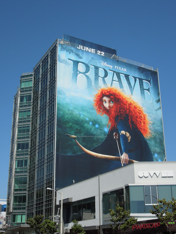Giant Brave billboard