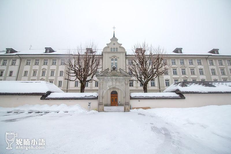 【瑞士景點】英格堡修道院 Benediktiner Kloster Engelberg。必嚐百年手工乳酪