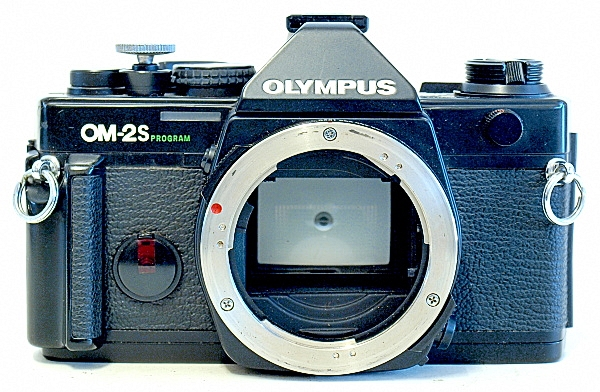 Olympus OM-2S, Front
