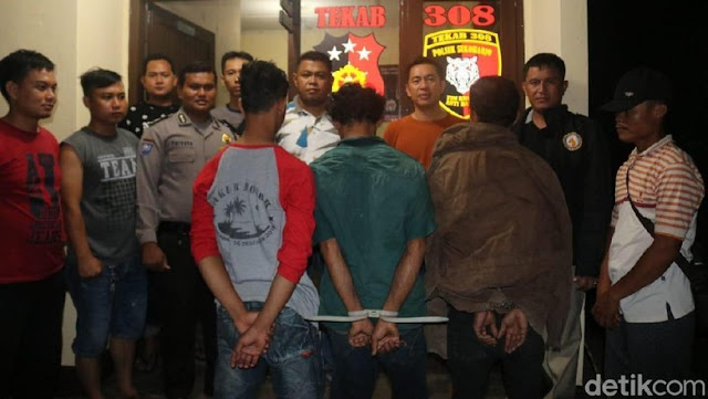 Bejat!! Melakukan Hubungan Sedarah, Ayah dan 2 Anaknya di Lampung Diringkus Polisi