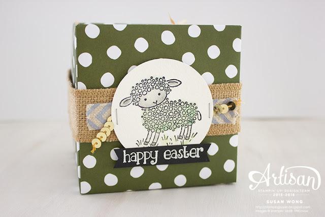 Easter Lamb Treat Box 3 ~ Susan Wong