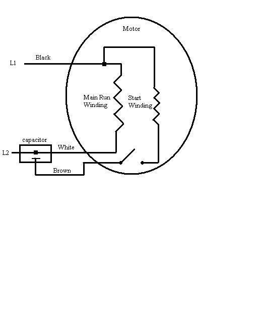 Ac Motor Capacitor Wiring Diagram Ac Capacitor Wiring Diagram