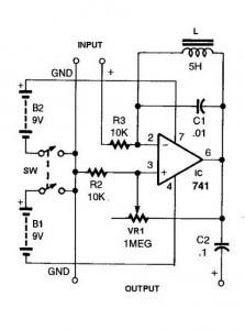741-IC-For-Simple-Ham-Radio-Circuit-Diagram Ham Radio Pre Amp Schematic Diagram on