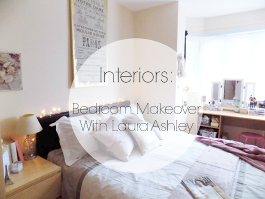 INTERIORS | Bedroom Makeover With Laura Ashley