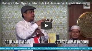 [Video] Bahaya Laten Syiah oleh Ustadz Haikal Hassan dan Ustadz Rahmat Baequni
