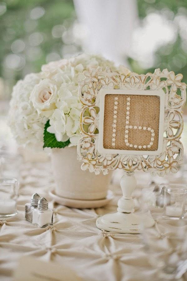 27 centros de mesa para bodas consigue una boda de cuento - Boda shabby chic ...
