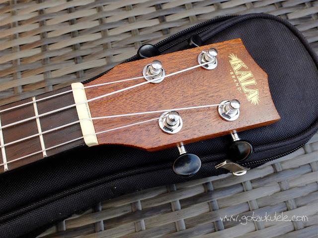 Kala KA-SSTU-C ukulele headstock