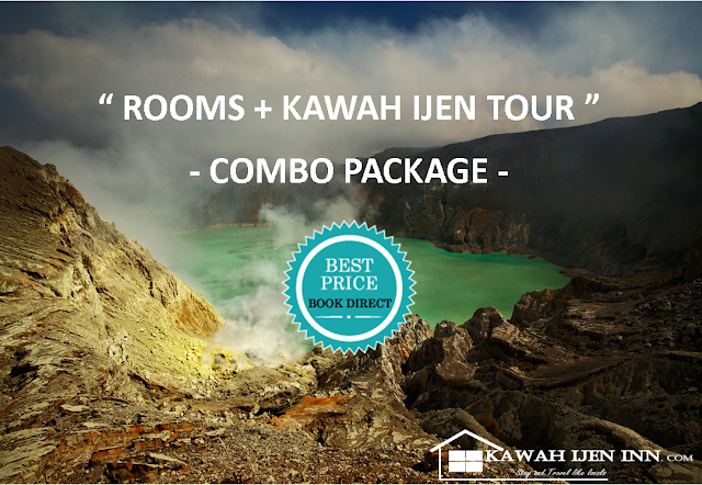 Combo Package - Room and Kawah Ijen Tour