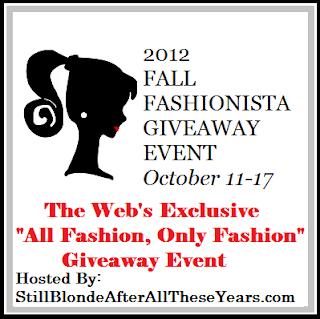 Fall Fashionista Event Logo