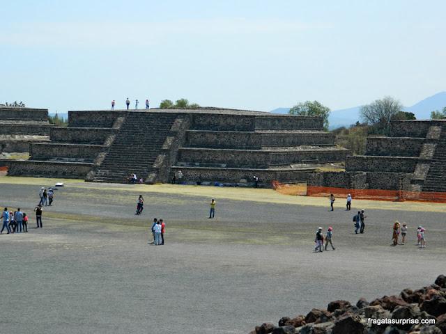 Esplanada de Teotihuacán, México